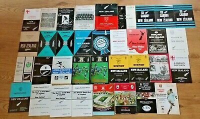 New Zealand Rugby Union Tour Programmes 1953 - 1997