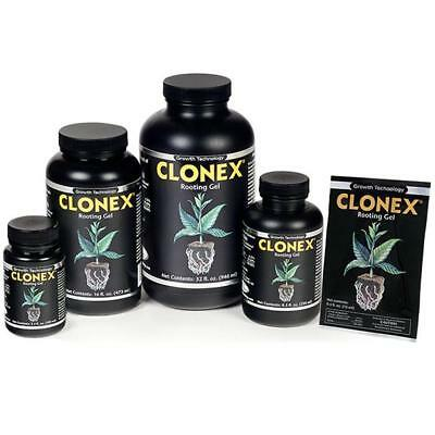 NEW Clonex Cloning Root Gel Rooting Compound - 15ml, 100ml or 250ml