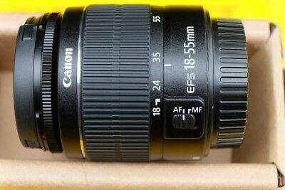 Canon EF-S 18-55mm f/3.5-5.6 III Lens for EOS Digital SLR New Genuine Kit Lens.