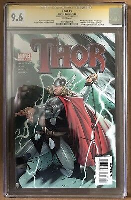 Thor #1 ⭐️ Signature Series Signed By Coipel ⭐️ CGC 9.6 SS ⭐️ Marvel