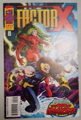 Factor X #2 of 4 Age of Apocalypse 1995 Marvel Comics VF