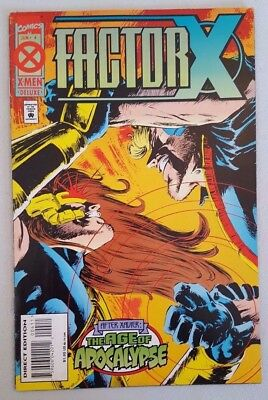 Factor X #4 of 4 Age of Apocalypse 1995 Marvel Comics VF