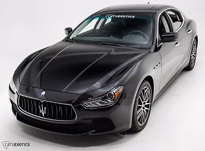 2015 Maserati Ghibli S Q4 One Owner - Factory Warranty - Profeo Wheels - Woodgrain Interior -