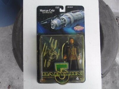 Babylon 5 - Marcus Cole - Action Figure w/White Star