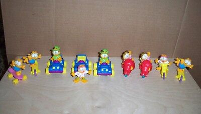 Lot 18 Garfield Odie Happy Meal McDonalds Figures 1988 very good used condition