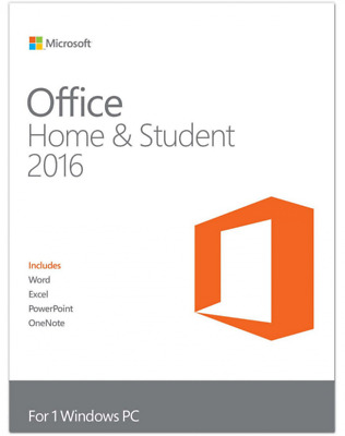 Microsoft Office 2016 Home and Student - AUSTRALIAN SELLER - FREE PRO UPGRADE!!