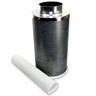 "VenTech 4"" 6"" 8"" Hydroponic Carbon Charcoal Air Scrubber Odor Control Filter"