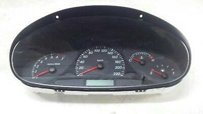 Ford Falcon AU 2 & 3 Dash Instrument Cluster low kms 215057km