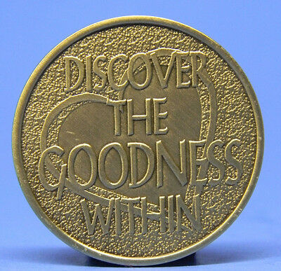 Discover The Goodness Within - Bronze Chip - Medallion -Chip - Sobriety
