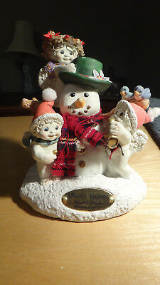 Dreamsicles Limited Edition A Magical Beginning Cherubs Snowman  287/10000
