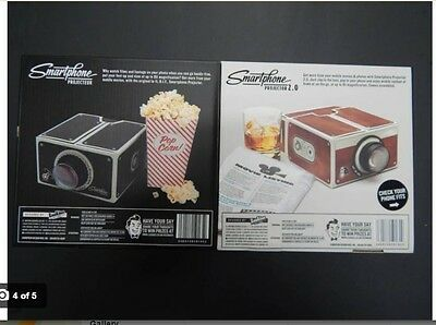 *BRAND NEW* Smartphone Projector 2.0- Black or Brown - AUS Seller great Gift
