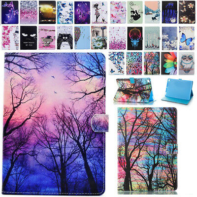 """Pattern Smart Magnetic Flip Card Stand Case Cover For iPad 9.7""""2017/Air 1 2/Mini"""