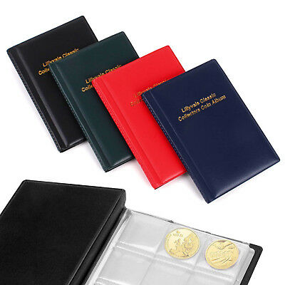 144 Collecting Coin Penny Money Storage Album Book Holder Case