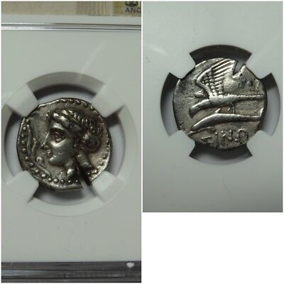 Paphlagonia, Sinope AR Drachm NGC VF Test Cut, Late 4th Century BC