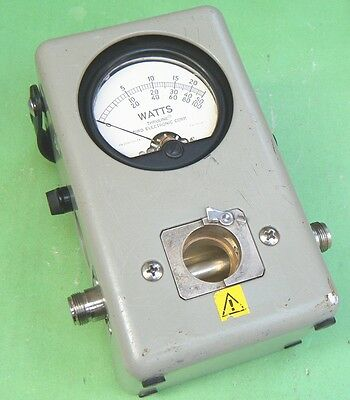 1pc Used Good Bird 43 Thruline WattMeter #C0iH