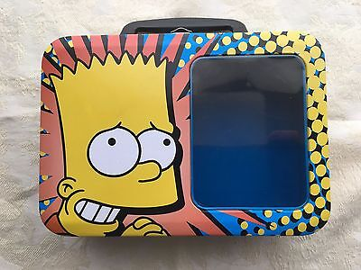 Bart Simpson lunch Box Tin with Window  from 2006