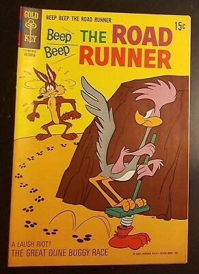 Beep Beep the Road Runner (Gold Key) #14 - Wile E. Coyote - 1969 - NO RESERVE!