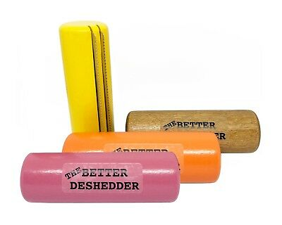 The Better Deshedder Twin Blade Dog Grooming Brush Reduces Shedding by 90%!!