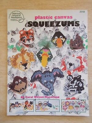 Plastic Squeezums~ASN #3048~Assorted Gifts~1987~17pp