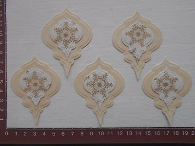 Card Making Die cuts - Christmas Baubles, First Edition Paper, 10 pieces - Lot 4
