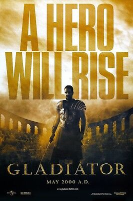 Gladiator Poster Length :400 mm Height: 800 mm SKU: 11630