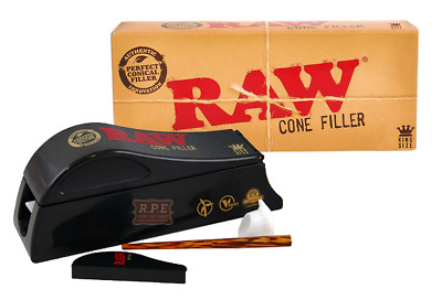 RAW Natural Rolling Papers Cone Shooter - Cone Filler Machine - NEW (KING SIZE)