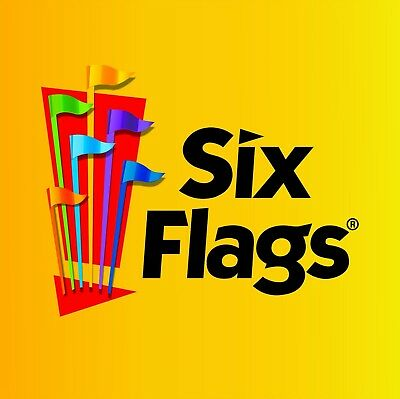 (2) 2017 And 2018  Six Flags Season Pass Plus All-Day Refillable Drink Bottle