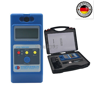 Quality WT10A LCD Tesla Meter Gaussmeter Magnetic Field Tester Ns Function EU