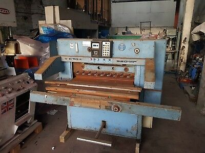 Victory 920 MP Industrial Guillotine- 1160x920
