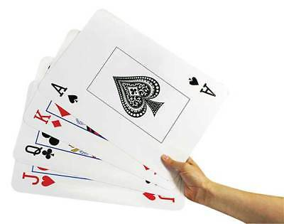 A4 Giant Playing Cards Maths Games Teacher Resource Education Kids 24cm x 37cm