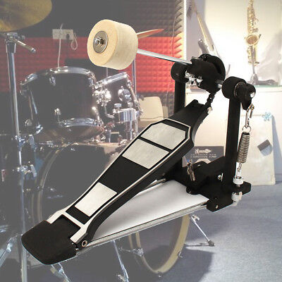 Single Alloy Bass Drum Kick Pedal For Adult Rhythm Jazz Musical Percussion UK