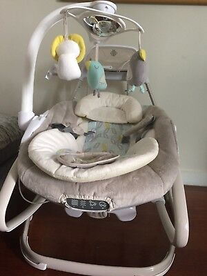 Ingenuity 2 in 1 baby swing and rocker
