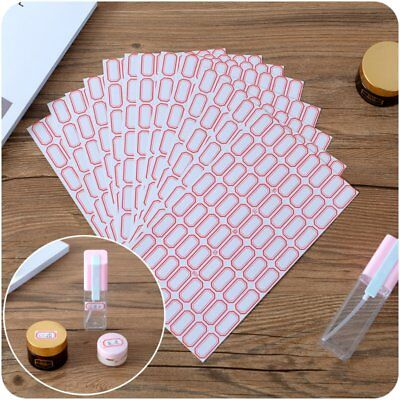 Self-Adhesive Label Sticker Blank Label Tags  Office Classified Sticky 10 Sheets