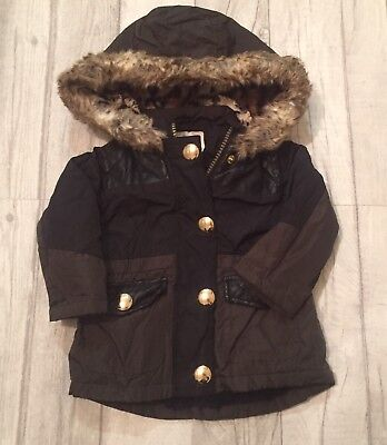 Baby Girls River Island Coat 0-3 Months