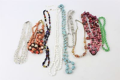Lovely Collection of GLASS BEAD Necklaces various styles, designs etc