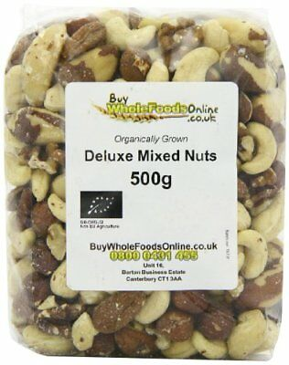 Buy Whole Foods Organic Deluxe Mixed Nuts 500 g