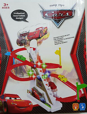 Planes Set Music Toys Fun Gift Kids Play Sound Stairs Climbing Up Dusty Skipper