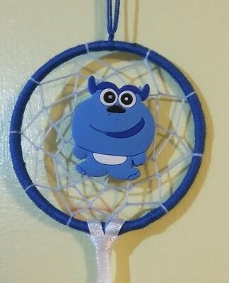 Dream catcher with monsters inc. pendant, gift, xmas gift