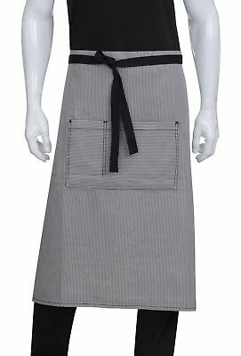 Chef Works Portland Bistro Apron (AW051) Black