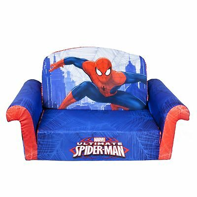 fold out couch for kids. Marshmallow Furniture Children\u0027s 2 In 1 Flip Open Foam Sofa Marvel  Spiderman . Fold Out Couch For Kids I