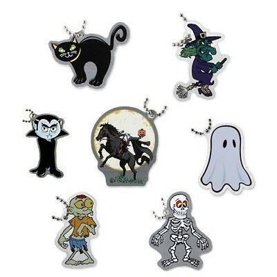 Spooky Travel Tag Set® 7 Stück Set Geocaching Trackable Geocoin Travelbug