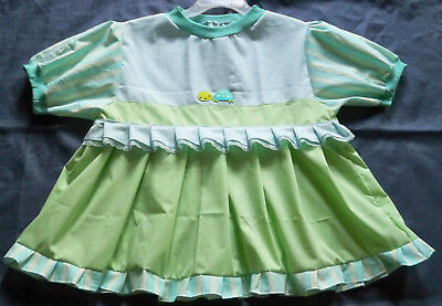 "ADULT 39"" Blue's & Green's Cotton Dress,  By  KT"