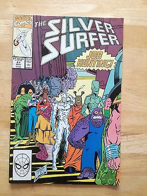 The Silver Surfer #41 Marvel Comics (M127)