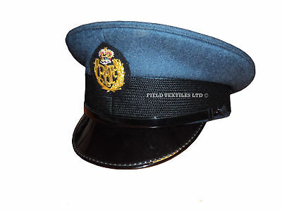 Royal Air Force Peaked Cap - Size 54Cm - Grade 1 Condition - Dfn810