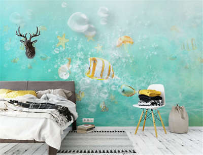 Smart Free Animal 3D Full Wall Mural Photo Wallpaper Printing Home Kids Decor