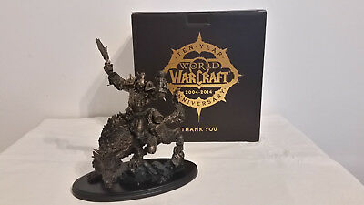 World of Warcraft - 10 Jahre - Orc Statue 10th Anniversary Ork Figur