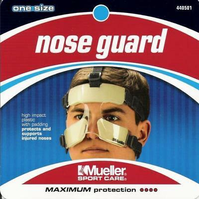Mueller 140501 Nose Guard Face High Impact Polycarbonate Protection Shield Adj