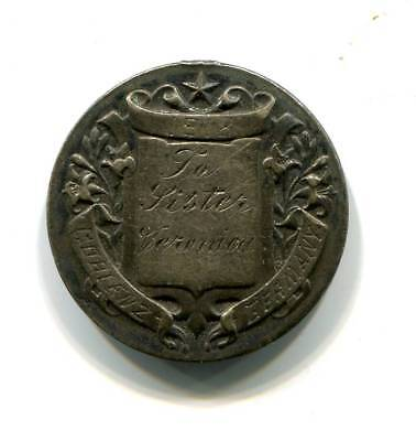 Antique WWI Silver Remembrance Token Made in Coblenz Germany