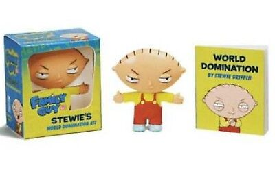 Family Guy: Stewie's World Domination Kit Miniature Editions Figure & 32pg Book