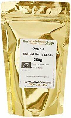 Buy Whole Foods Organic Shelled Hemp Seeds 250 g